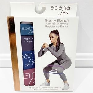Apana Luxe Booty Resistance Bands workout toning